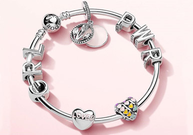 Charm Bracelet with Letters